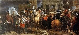 the entry of henry iv into paris, 22 march 1594 by françois pascal simon gérard