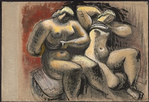two women by frank dobson