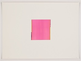vanadium yellow / red violet by callum innes