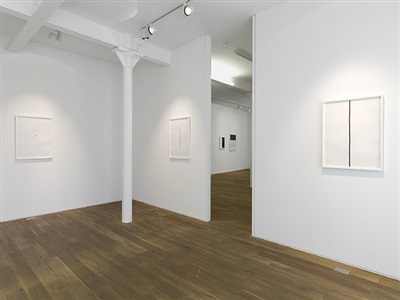 callum innes: works on paper (1989 - 2012), installation view, gallery ii