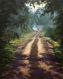 old county road (sold) by cora ogden