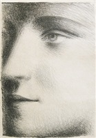 visage de marie-thérèse (bloch 95) by pablo picasso
