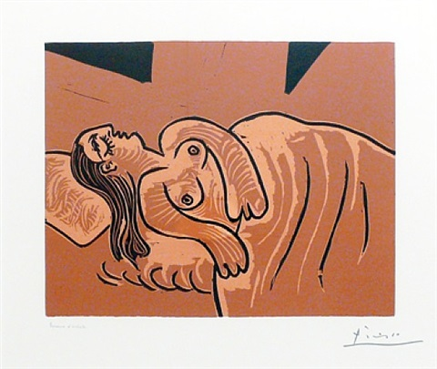 dormeuse (bloch 1083) by pablo picasso