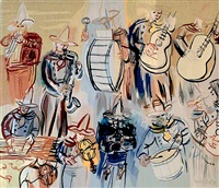 orchestre mexicain by raoul dufy