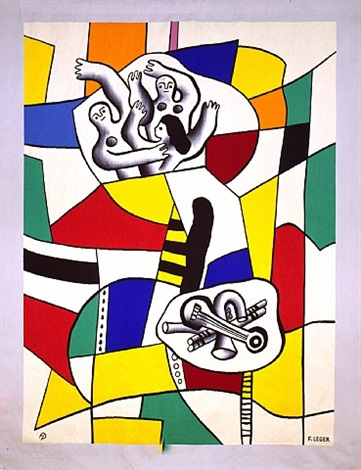 sao paulo by fernand léger