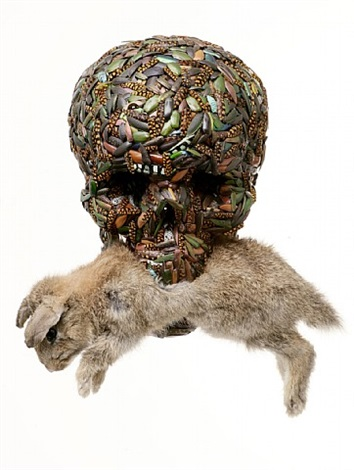 grave tomb (skull) by jan fabre