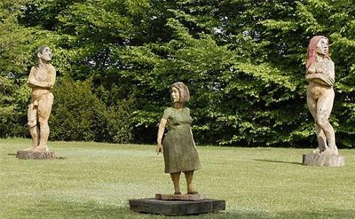 installationsview out of the sculpture garden 2012