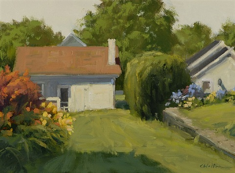 garden house in madison by carolyn walton