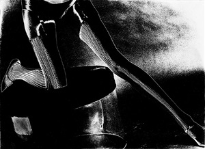 spider legs: model unknown, mid- 1960s by lillian bassman