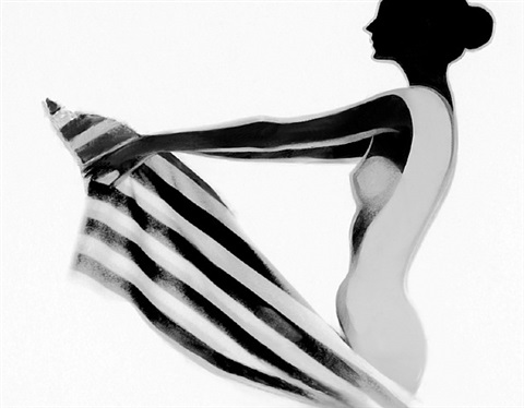 betty beihn: nude i by lillian bassman