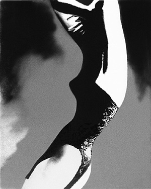 the mold of the princess- everything black and lacy: model unknown, lingerie by lily of france, harper's bazaar by lillian bassman