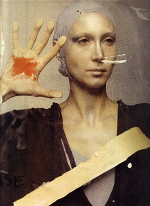 stigmata: isabella at ecole des beaux arts, paris by deborah turbeville