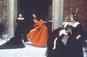 from the valentino collection by deborah turbeville