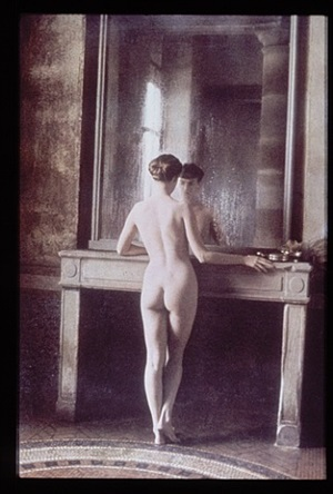 for rochas, france by deborah turbeville