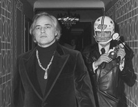 marlon brando and ron galella, new york by ron galella