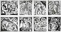 godseekers, portfolio by reuven rubin