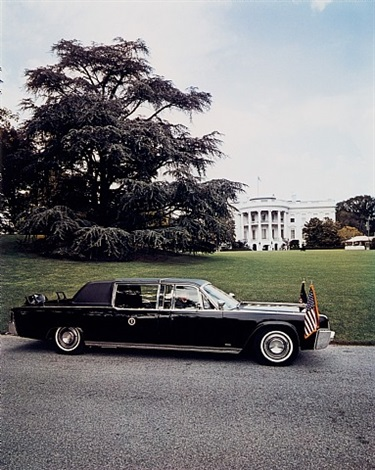 the president's car, washington, d.c. by evelyn hofer