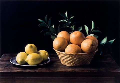 hommage a zurbaran (still life no. 6) by evelyn hofer