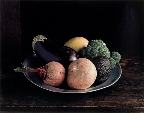broccoli (still life no. 3), new york by evelyn hofer