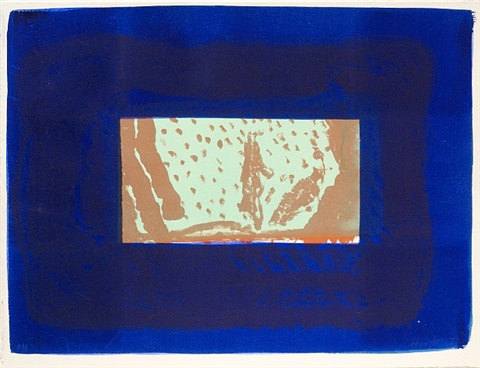 birthday party by howard hodgkin
