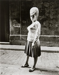 girl, barcelona by evelyn hofer
