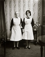 anne and emma, dublin by evelyn hofer