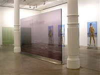 installation view from <i>transillumination</i> by brian clarke