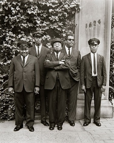 chauffeurs, washington, dc by evelyn hofer