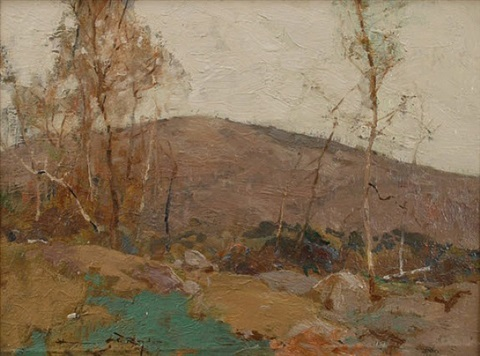 mountain birches by chauncey foster ryder