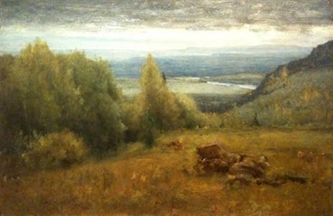 from the shawangunk mountains by george inness