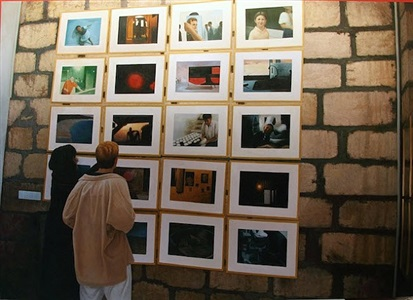 art exhibition, four by five by khalil rabah