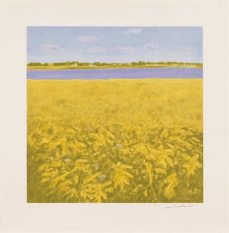 goldenrod by jane freilicher
