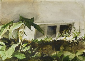 jack in the pulpit by andrew wyeth