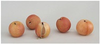untitled - 5 peaches by stephanie chubbuck