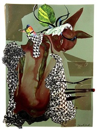 s'nicky eyes by wangechi mutu