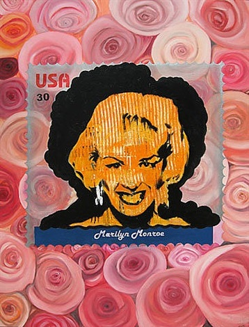 commemorative stamps (andy's monroe) by chintan upadhyay