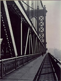 manhattan bridge by berenice abbott