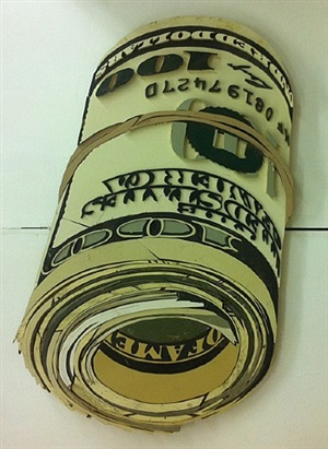 dollar roll by diederick kraaijeveld