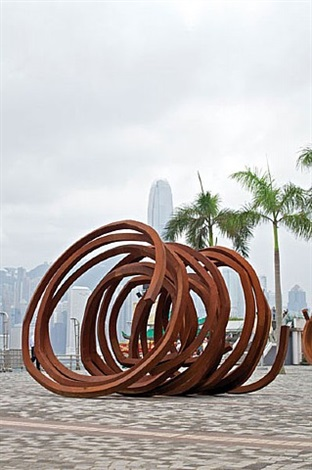 three indeterminate lines by bernar venet