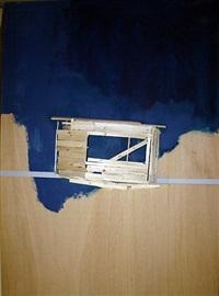 pompidou plan, maquette no. 58 by tadashi kawamata