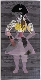the exquisite pirate (pink/north sea) by sally smart