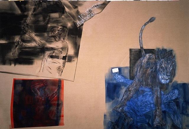 les realites provisoires by leon golub