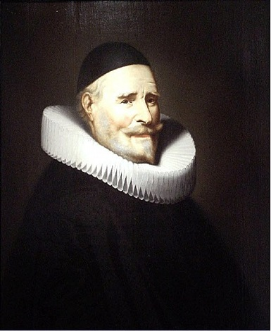 a portrait of a man by jan jansz westerbaen sr.