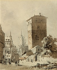 a view of nuremberg by thomas sidney cooper