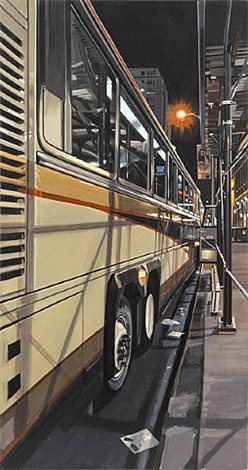 tour bus by richard estes