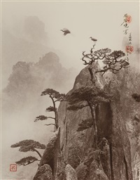 pine peak, yellow mountain by don hong-oai