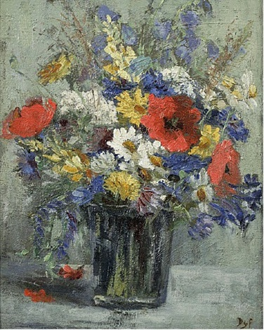bouquet de fleurs by marcel dyf