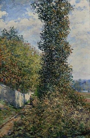chemin dans les arbres by léon giran-max