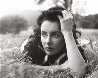 elizabeth taylor (from the set of giant, virginia, plantation) by peter basch