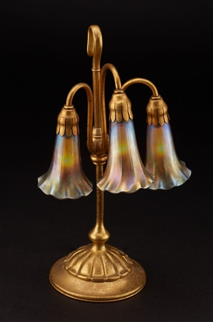 Lily Three Light Table Lamp Model No 306 By Tiffany Studios On Artnet